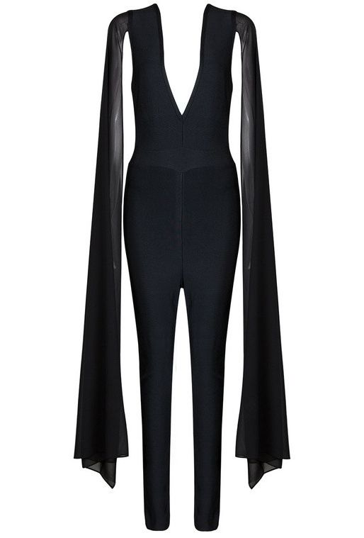 Ladies Women Mesh Insert Celebrity Long Sleeve Playsuit Trouser Dress Jumpsuit