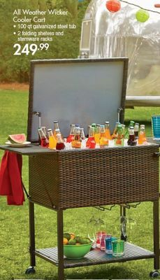 All Weather Wicker Cooler Shared from Flipp in the Bed Bath & Beyond flyer