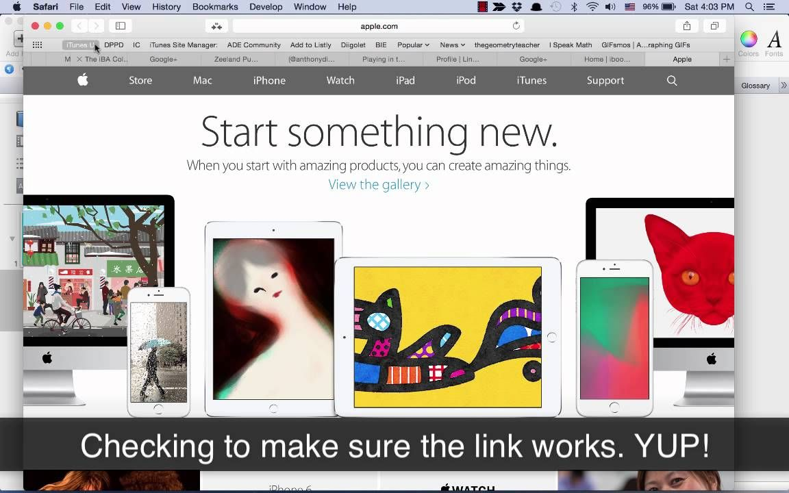 Changing color of a Hyperlink in iBooks Author for default