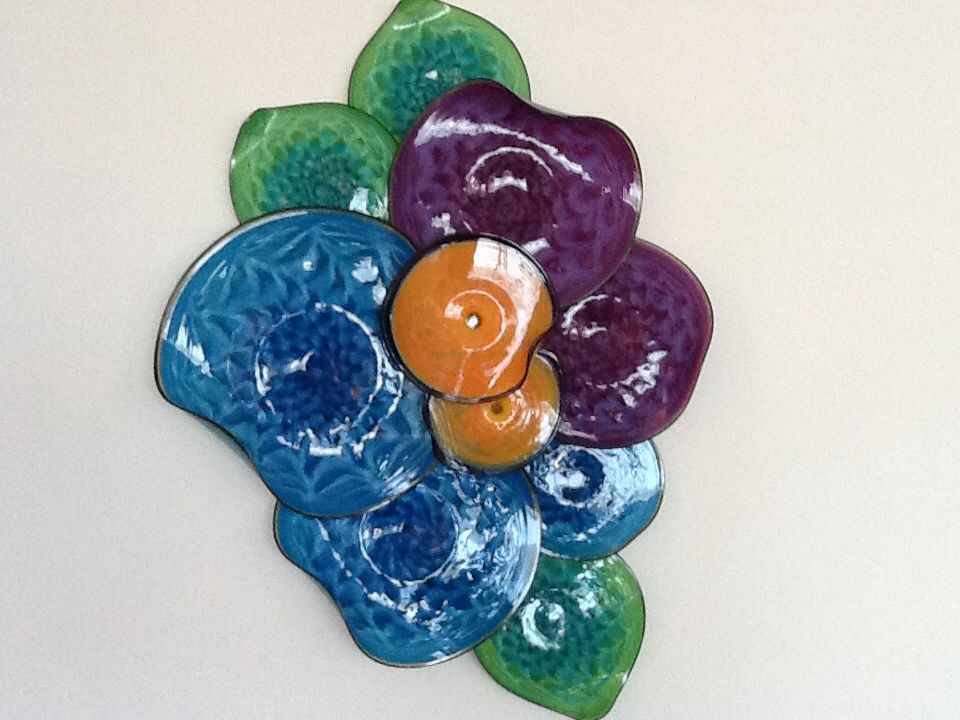Blown glass art from artist thomas long of st augustine