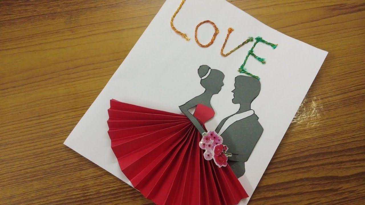 Youtube Surprise Gift For Husband Handmade Beautiful Card Beautiful Handmade Cards Surprise Gifts For Husband Cards Handmade