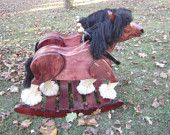 Clyde and Dale Rocking Horse