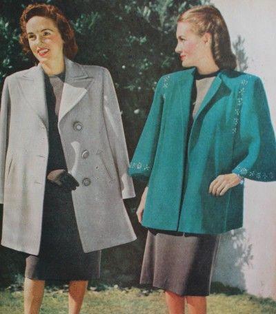 1940s Fashion Advice for Tall Women | 1940s fashion, Fashion ...