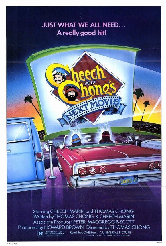 cheech and chong s next movie 27x40 movie poster 1980 pee wee rh pinterest com