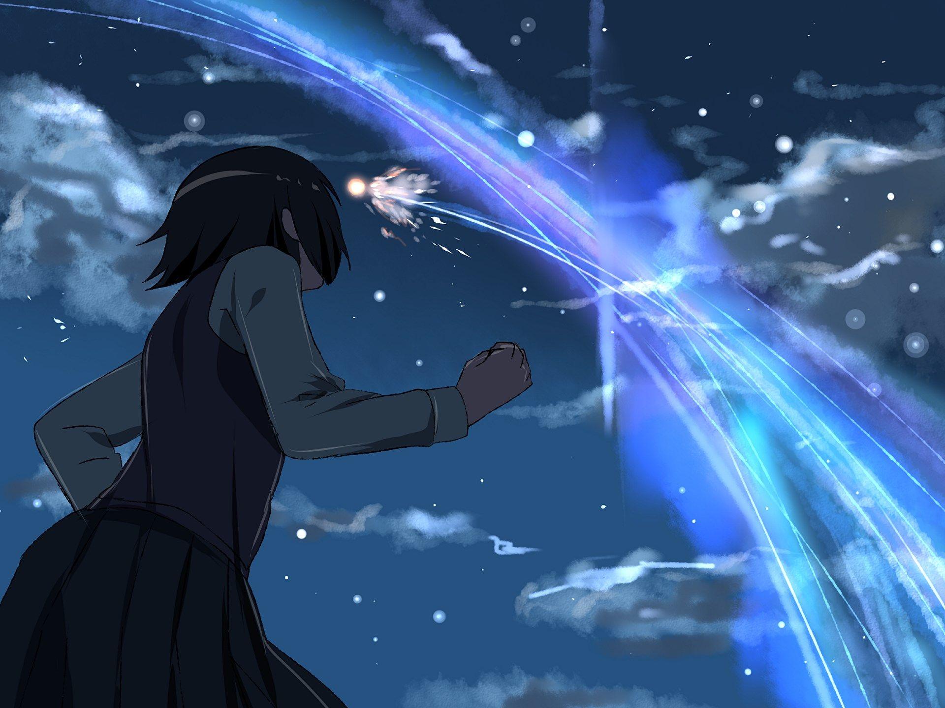 Mitsuha Miyamizu ღ By Makoto Shinkai
