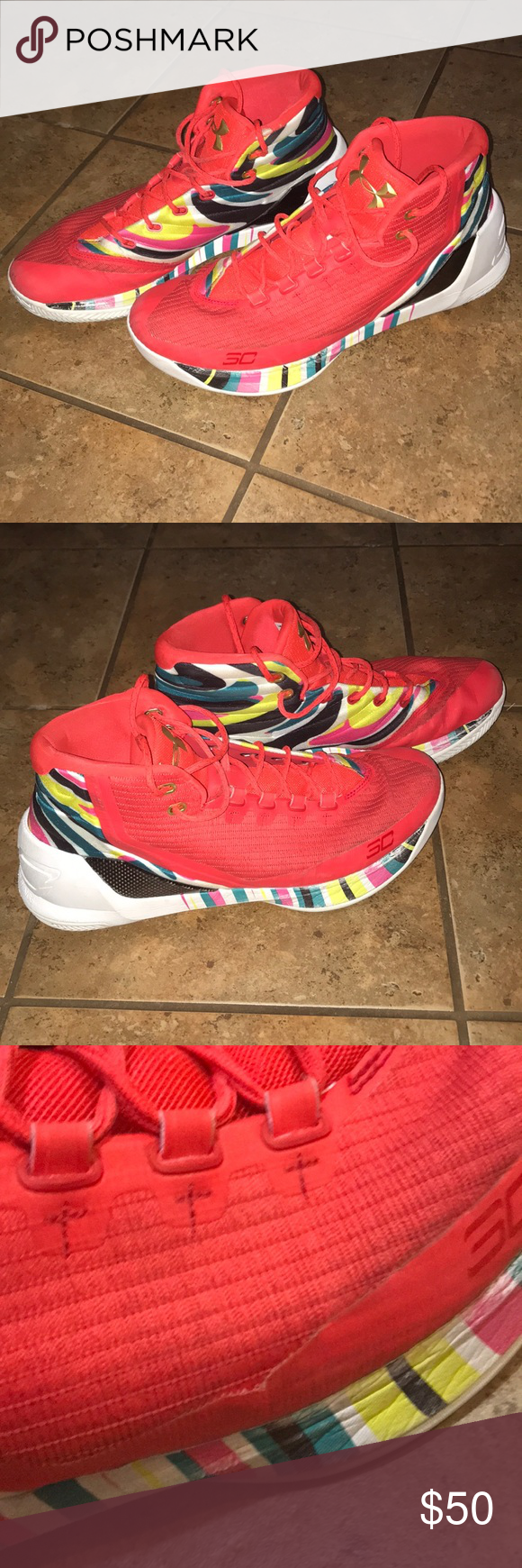 b565fd530ca3 Under Armour UA Steph Curry 3 Chinese New Year CNY Under Armour UA Steph  Curry 3