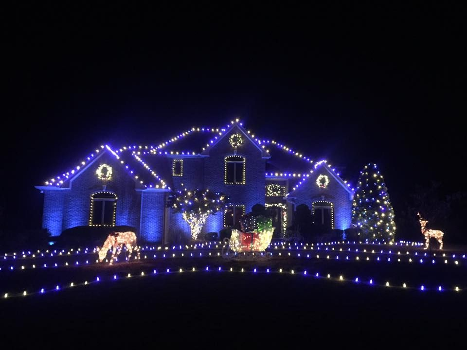Blue And White Christmas Lights Led Holiday Lights By Christmas Decor Holiday Lights Christmas Lights Outside Christmas Lights