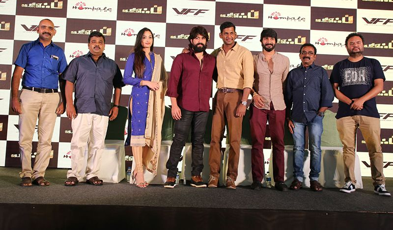 Vishal ,Yash At KGF Movie Press Meet