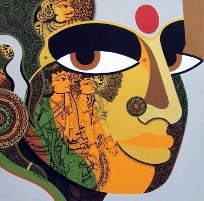 Modern & contemporary Art With Different Famous Indian Artist ...