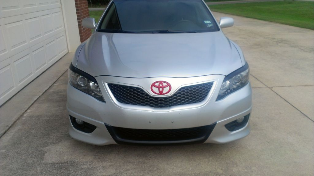 2011 Camry Se Bumpers Side Skirts And Eyelids Trim