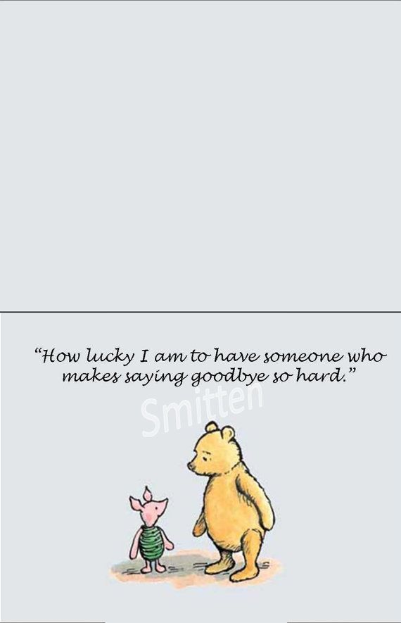 Theretroinc On Etsy Mary Pooh Piglet Quotes Piglet Quotes