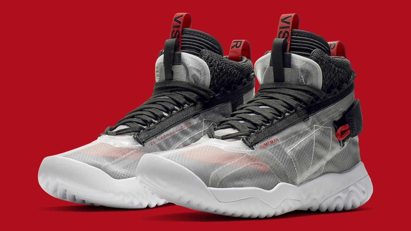 Jordan Apex Utility Black Red Release