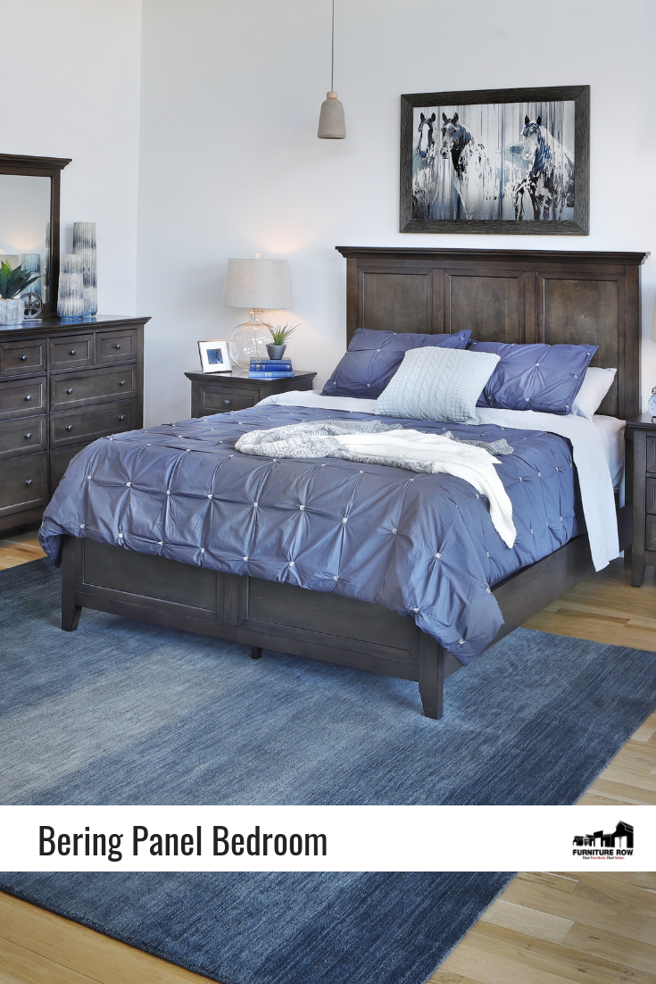 Bering Panel Bedroom Set is a classic collection that will never