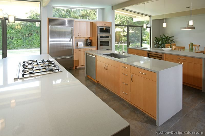 Kitchen Island With Sink And Stove kitchen-cabinets-modern-light-wood-009-s16549456x2-luxury-island