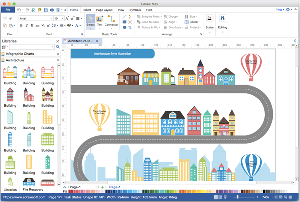 cant afford visio edraw is a cheap and powerful visio alternative for making - Cheap Visio