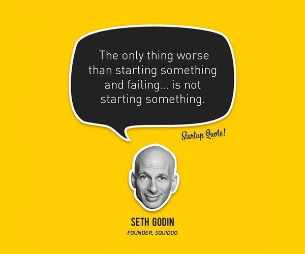 La única cosa peor que emprender algo y fracasar es... no emprender nada