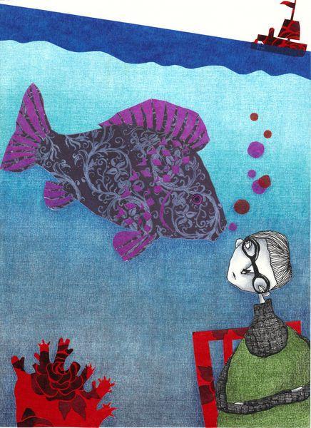 Erzahl mon von dir, Fisch. (Tell me more, Fish)     Judith Clay