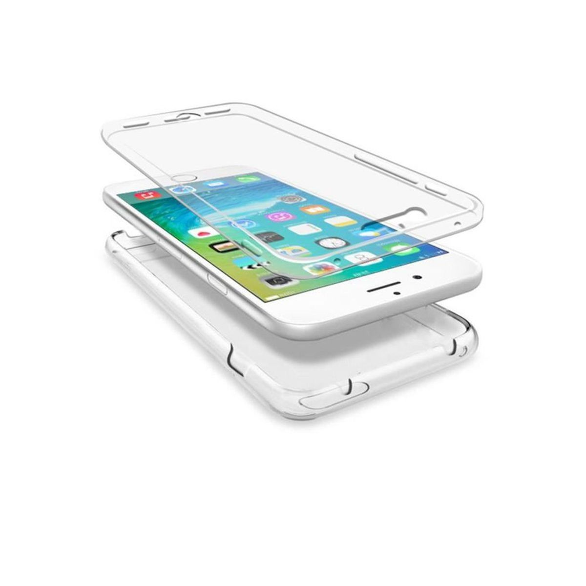 Coque integrale transparente iphone 6