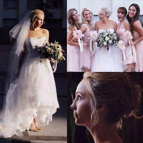 Candice Mariage Candice Accola Wedding Celebs Candice King