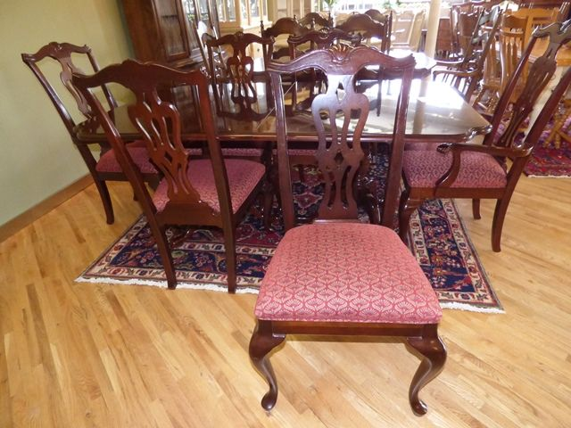 beautiful drexel dining table with 6 chairs 1 furniture pieces rh pinterest com
