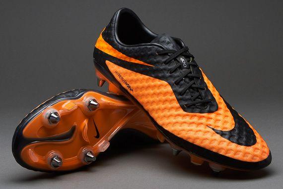 a366f8245 Nike Hypervenom Phantom | Soft Grass | Orange and black | Soccer Shoes