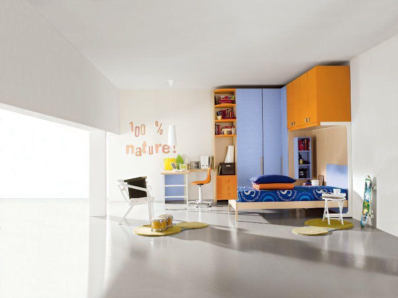 Cameretta arancione ~ Cameretta creamy una colorata proposta per bambine una cameretta