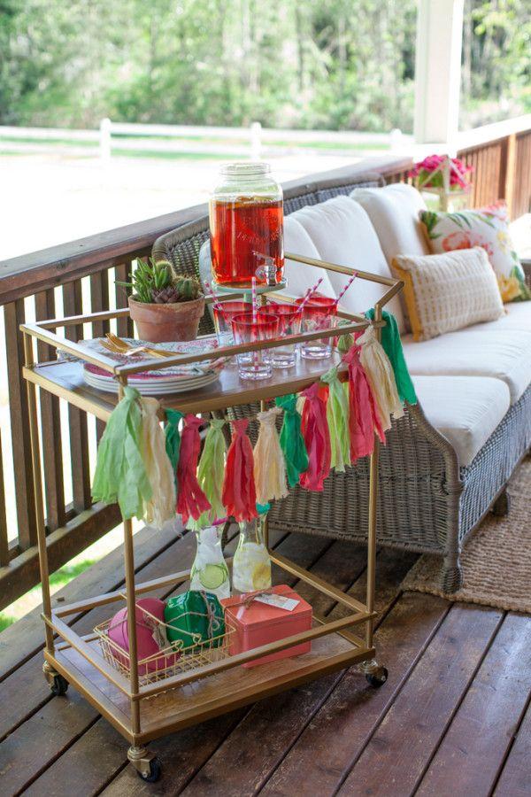 simple tips for hosting a porch party rethinkreuse saversvvillage rh pinterest ca