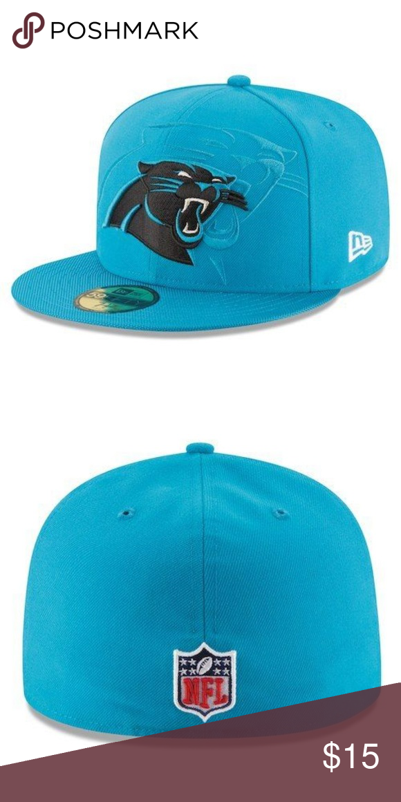 8e62537d4e2c0 NFL Carolina Panthers New Era 59Fifty Sideline Hat Keep Pounding!! This is  the cap