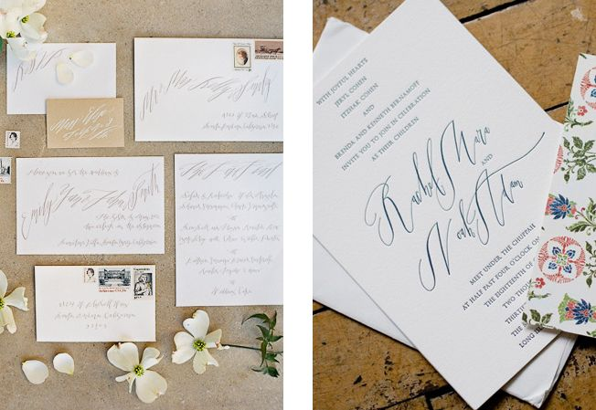 Lakeside calligraphy inspired wedding artfully wed wedding
