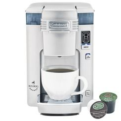 Cuisinart® Compact Single Serve Coffee Maker | www