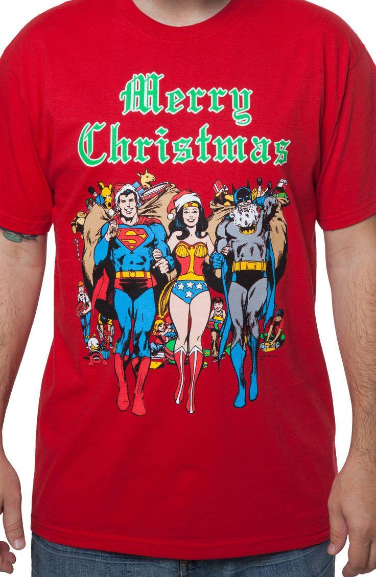 Jla Worlds Best Adult Work Shirt