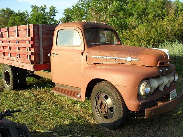1952 Ford F5 For Sale Aberdeen South Dakota Ford Trucks For