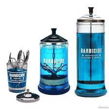 Details about King Research Barbicide Disinfecting Jar Large