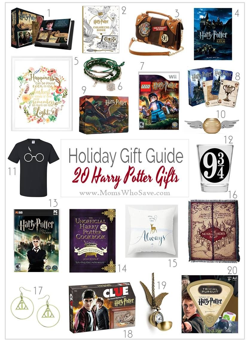 gift guide 20 gifts for harry potter fans and where to buy