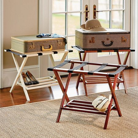 Folding Luggage Rack Guest Room Decor Decor Campaign Furniture