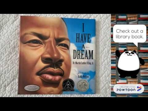 I Have A Dream Speech for Kids - Picture Book Read Aloud ...