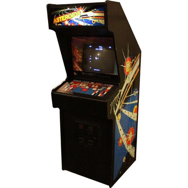 Asteroids Arcade Game. Best Thing In My Basement As A Kid
