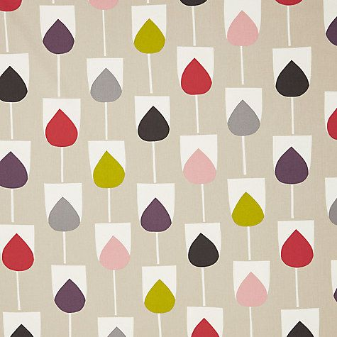 Buy Scion Sula Furnishng Fabric, Spice / Rose Online at johnlewis.com