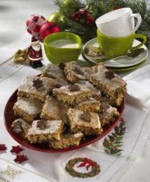 Weihnachtlicher Gewürzkuchen vom Blech Rezept