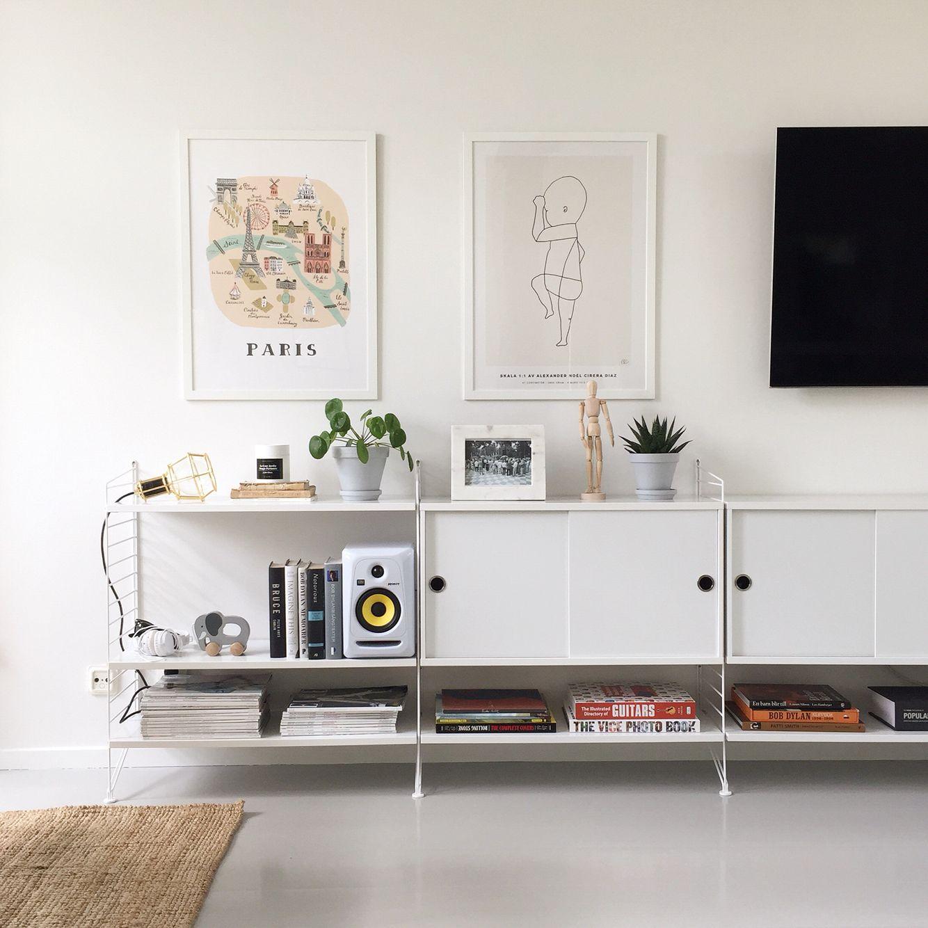 string shelf styling personlig f delsetavla the birth poster paris print design house. Black Bedroom Furniture Sets. Home Design Ideas