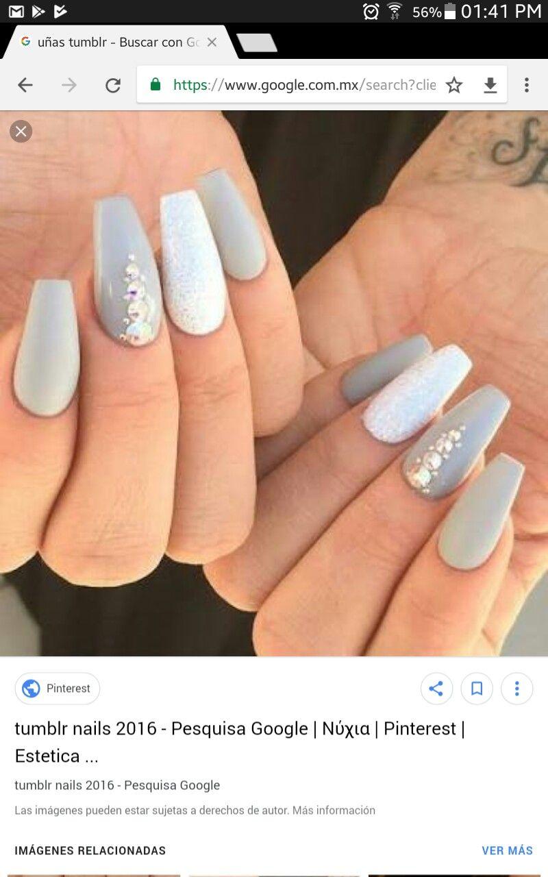 Pin by Kelli Mainaaupo on NAILS Coffin shape nails