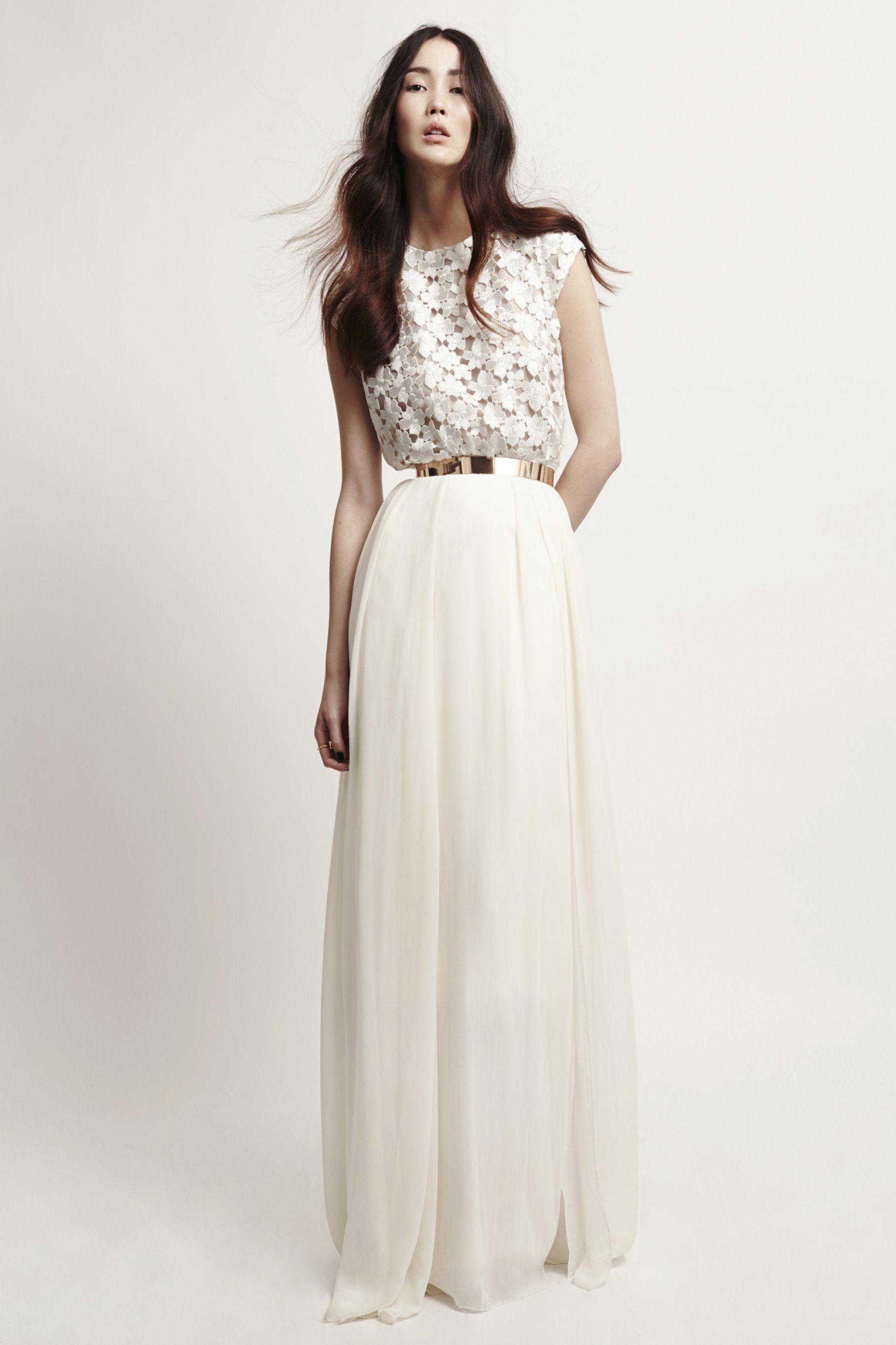 Belle Michelle Dress | klassisches Brautkleid, Gürtel und Oberteile