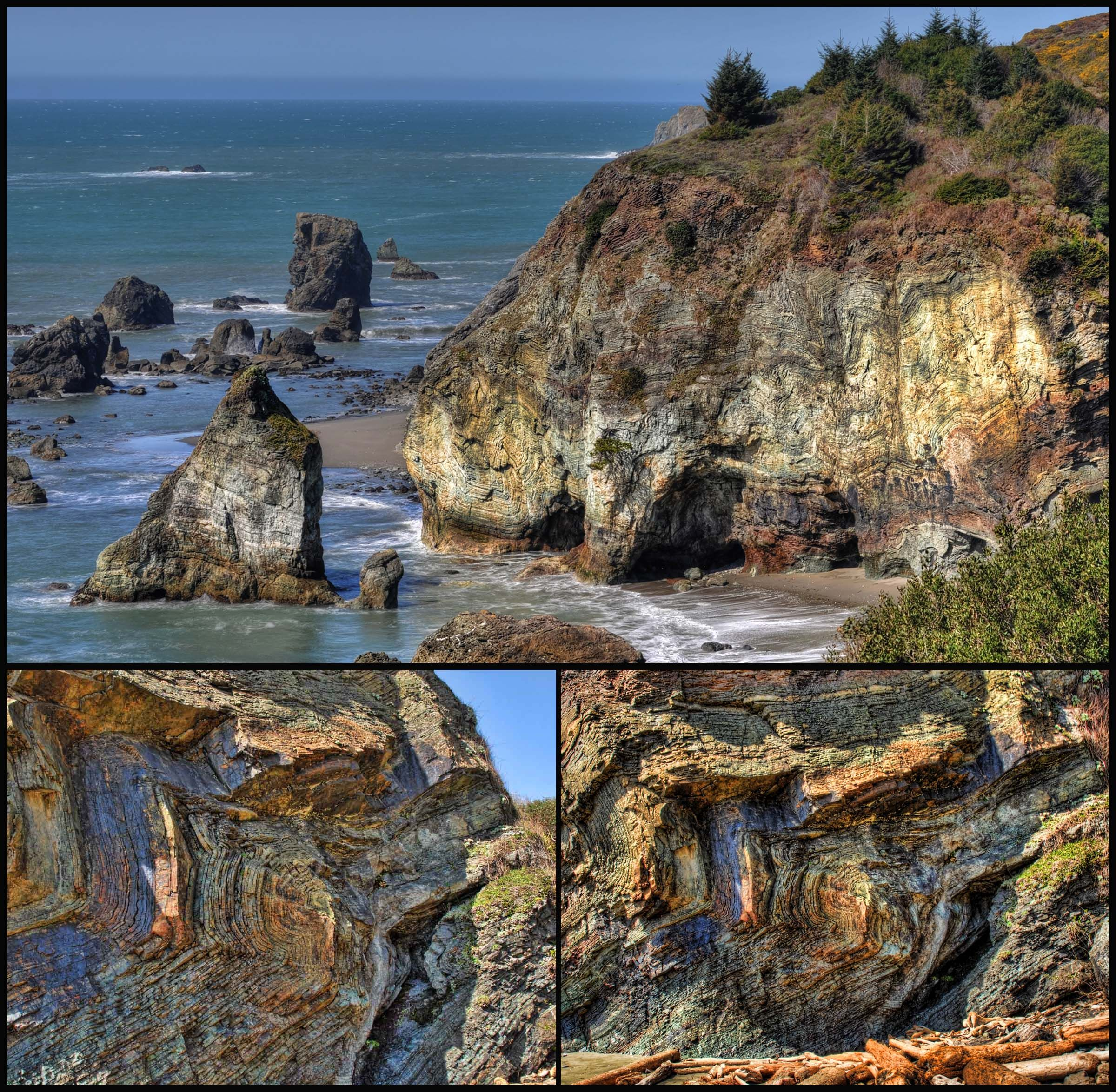 Oregon Coast Beach House Designs: Rainbow Rock Southern Oregon Coast