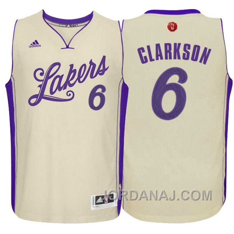 5cae3bb7f ... czech buy nba season los angeles lakers jordan clarkson christmas day  white jersey from reliable nba