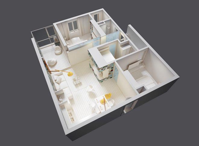 Căn hộ tái định cư 83 m2 đẹp sau khi sửa - VnExpress Đời sống