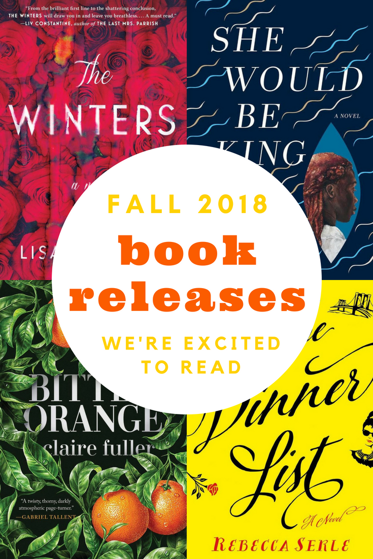 Fall 2018 Book Releases We're Excited to Read