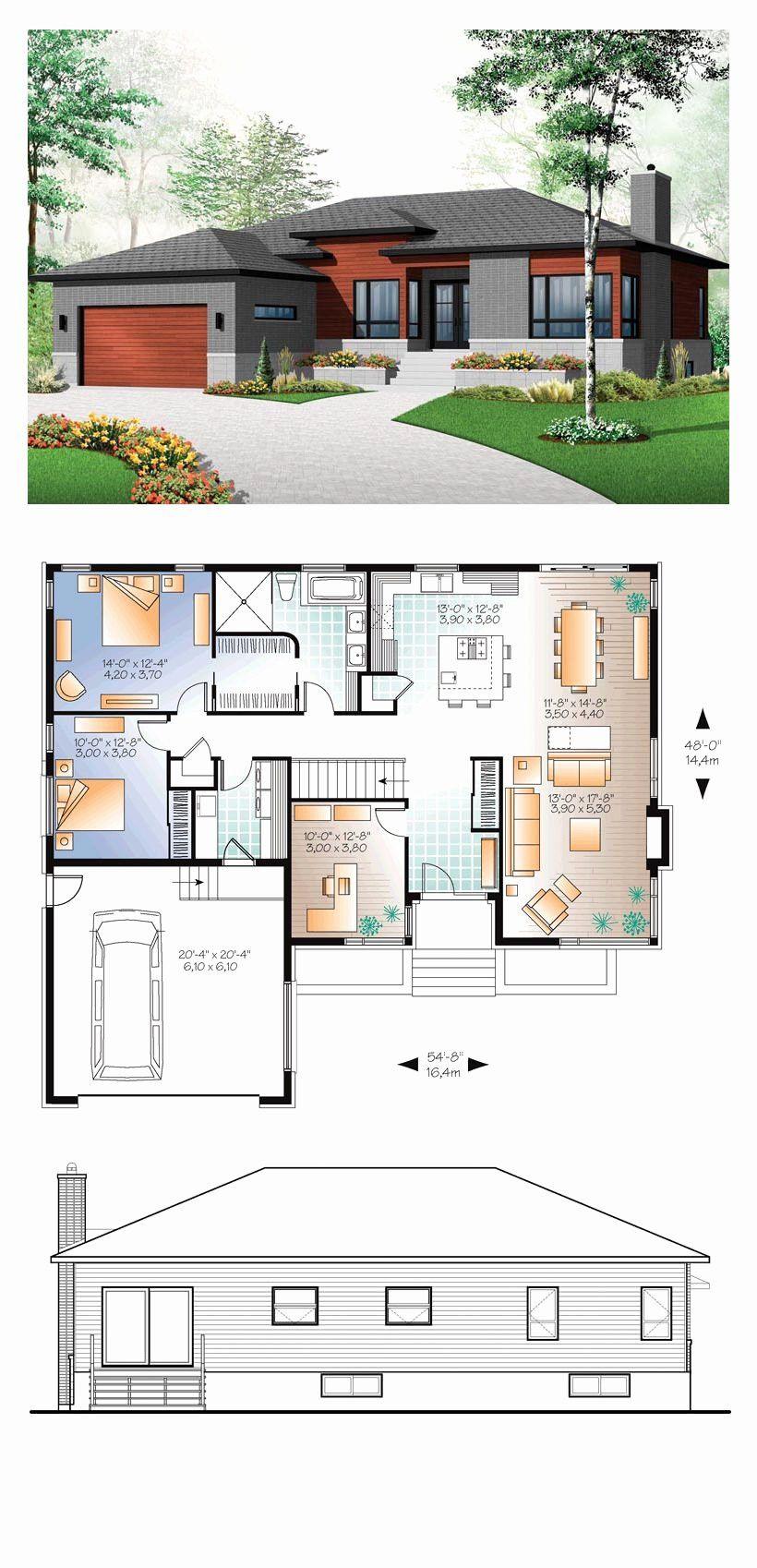 Modern 3 Bedroom House 2020 Arsitektur Rumah Indah Rumah Impian