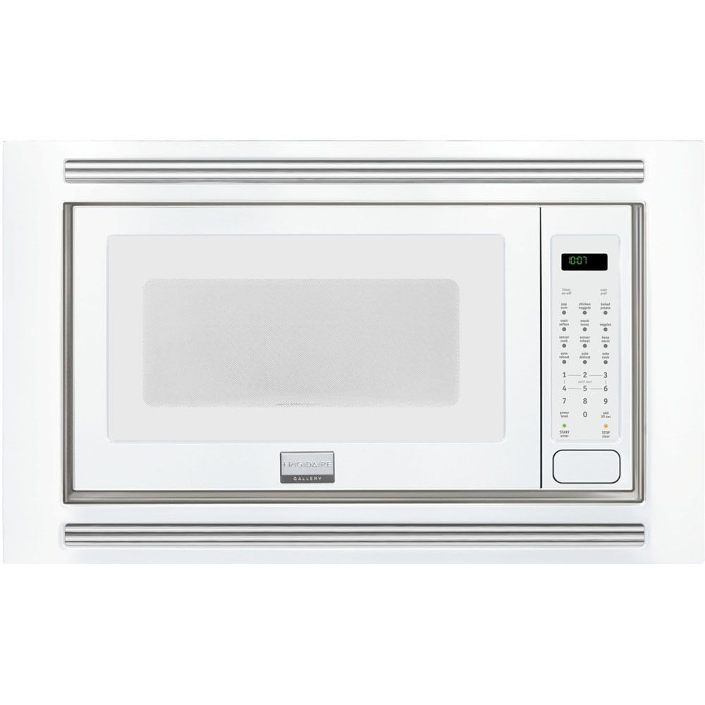 Frigidaire White 2.0 Cubic Feet Built-In Microwave (Frigidaire Gallery 2.0 Cu. Ft. Built-In Microwave)