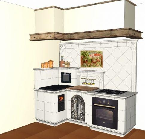 Kuchnia Kaflowa 522 Kafel Kar Rustic Kitchen Home Decor Home Kitchens