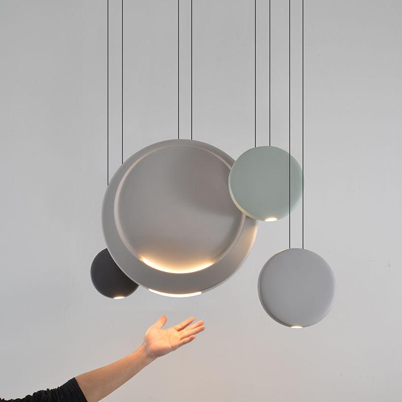 Post moderno lampadario di design moderno e creativo ristorante personalità lampada da tavolo bar camera